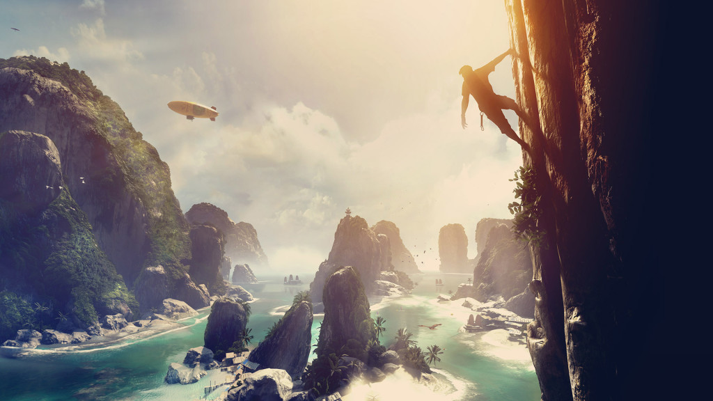 Crytek The Climb artwork