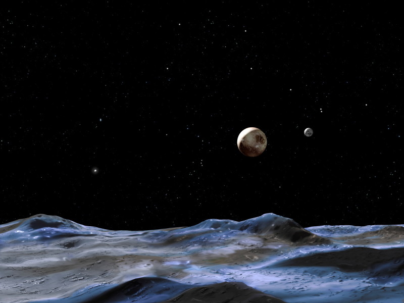 pluto system moons