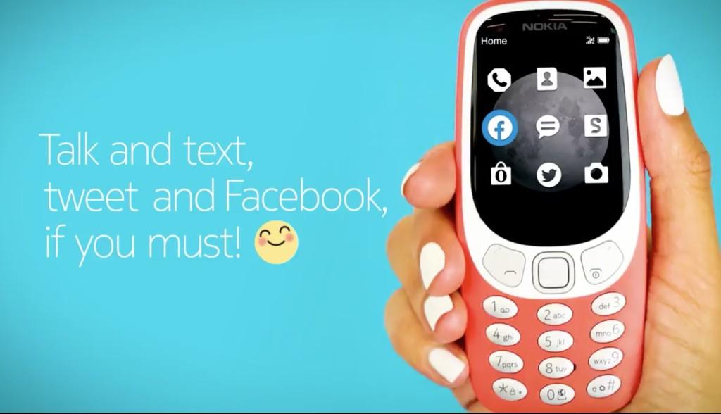 HMD annuncia Nokia 3310 3G, versione 3G del Nokia 3310 2017