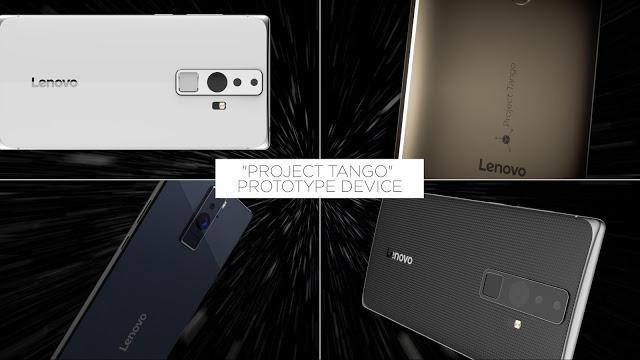 CES 2016: Lenovo presenta il primo Phablet con Project Tango