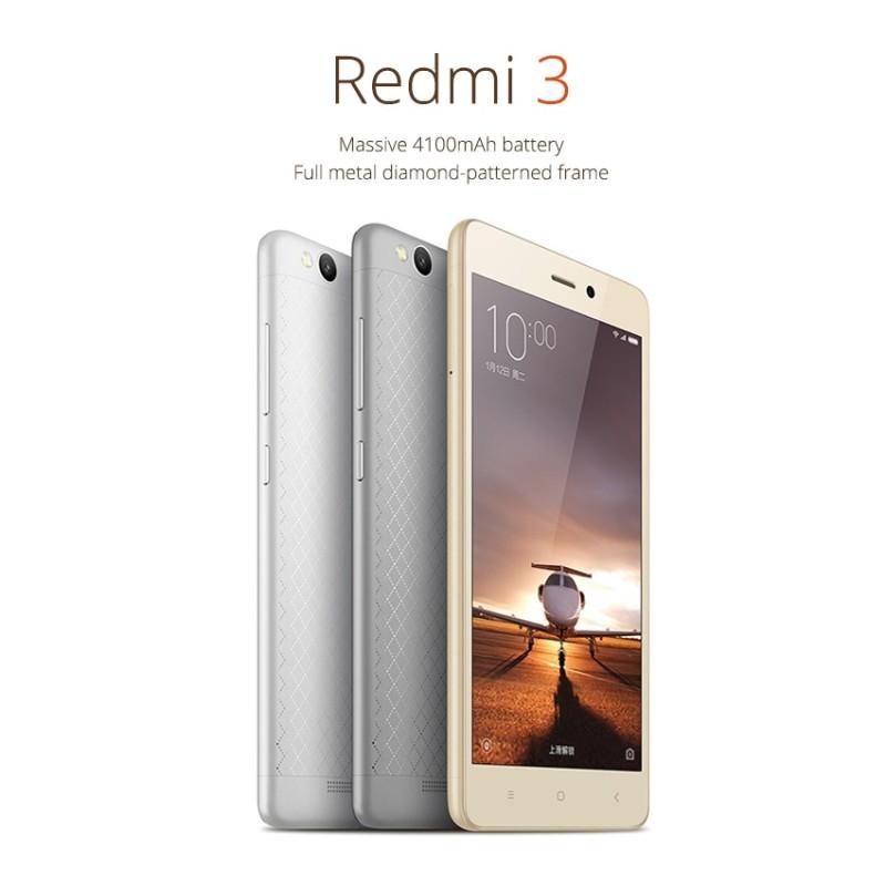 Xiaomi Redmi 3, presentato il nuovo smartphone Android economico tutte le caratteristiche