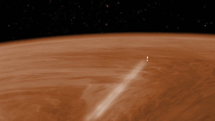 Venus Express aerobraking node full image 2