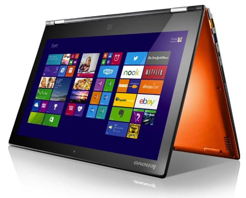 Lenovo Yoga 2 Pro Orange Tent
