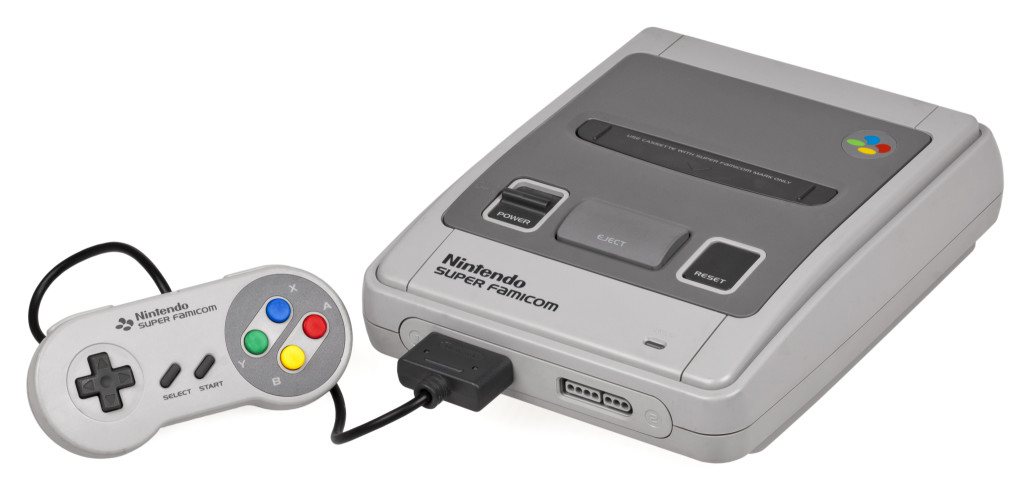 super famicom console set