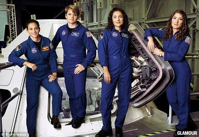 3021EEF500000578 3397943 From left to right are astronauts Nicole Aunapu Mann Anne McClai a 15 1452716636985