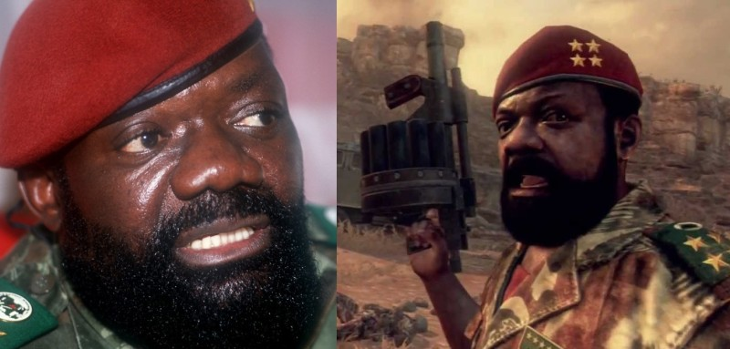 Jonas Savimbi Call of Duty