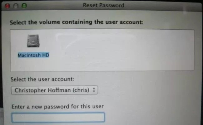 how to change your password on macbook pro