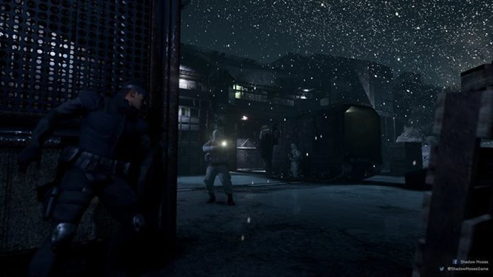 Shadow Moses, Metal Gear Solid rifatto con Unreal Engine 4