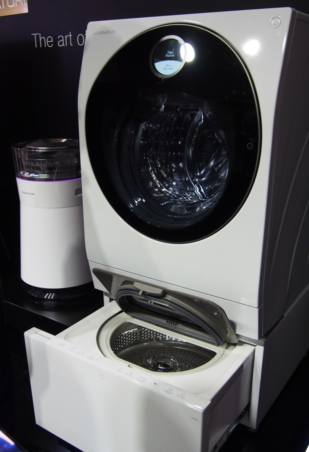 lg signature washer