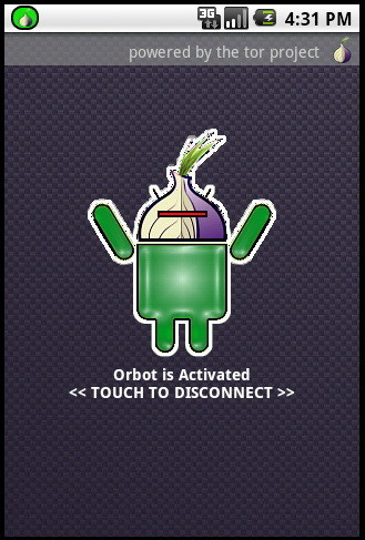 android activated