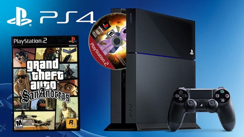 PlayStation 4 PS2 emulazione