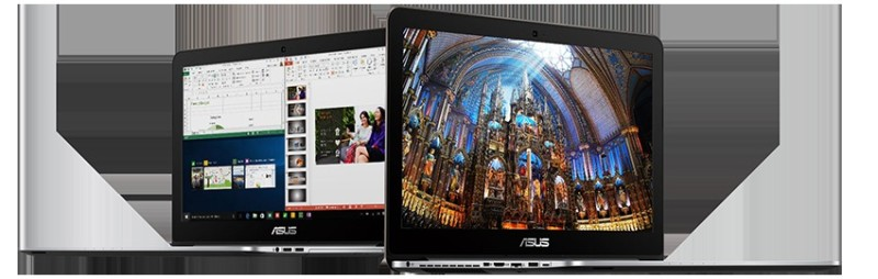 ASUS N552 4K UHD display with wide color gamut and 178 wide viewing angle