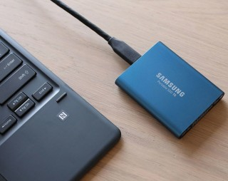 Test Portable SSD T5