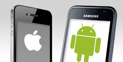 ios and android smartphones