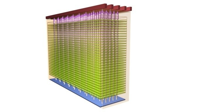 3d nand 32 layer stack