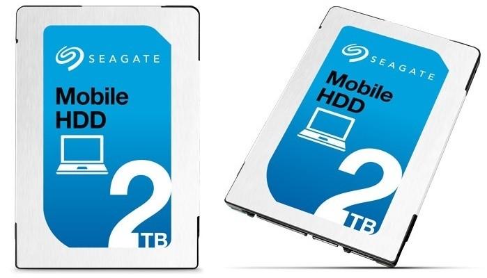 Seagate Mobile HDD, 2 terabyte in 7 millimetri di spessore