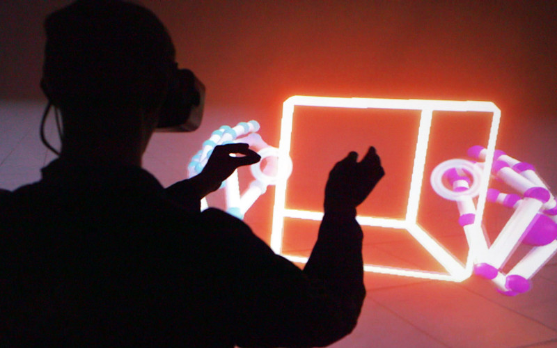leap motion orion blocks demo