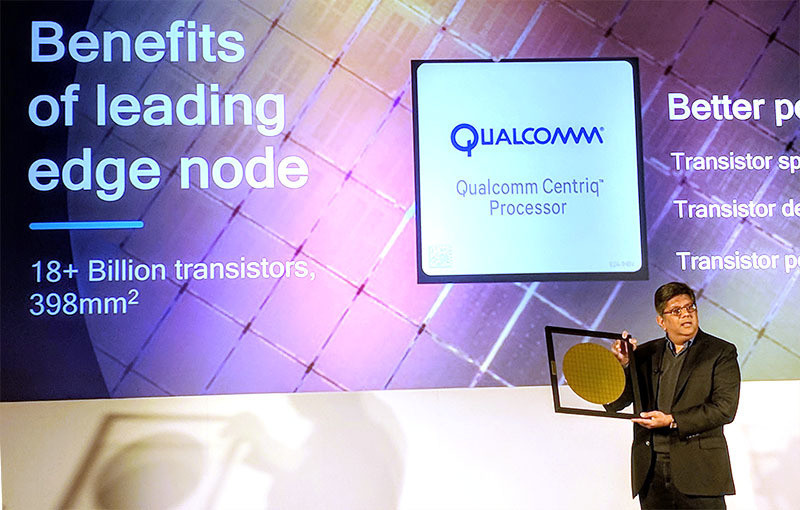 qualcomm centriq 2400 wafer