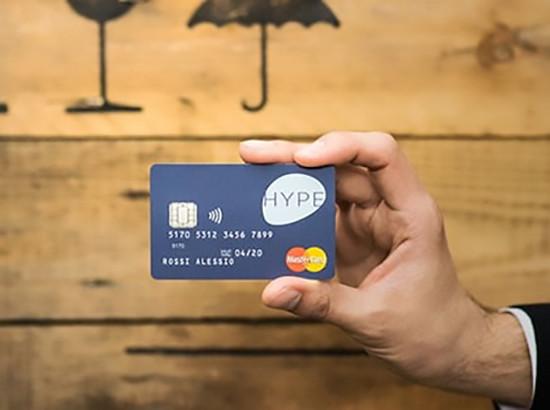 hype carta mastercard
