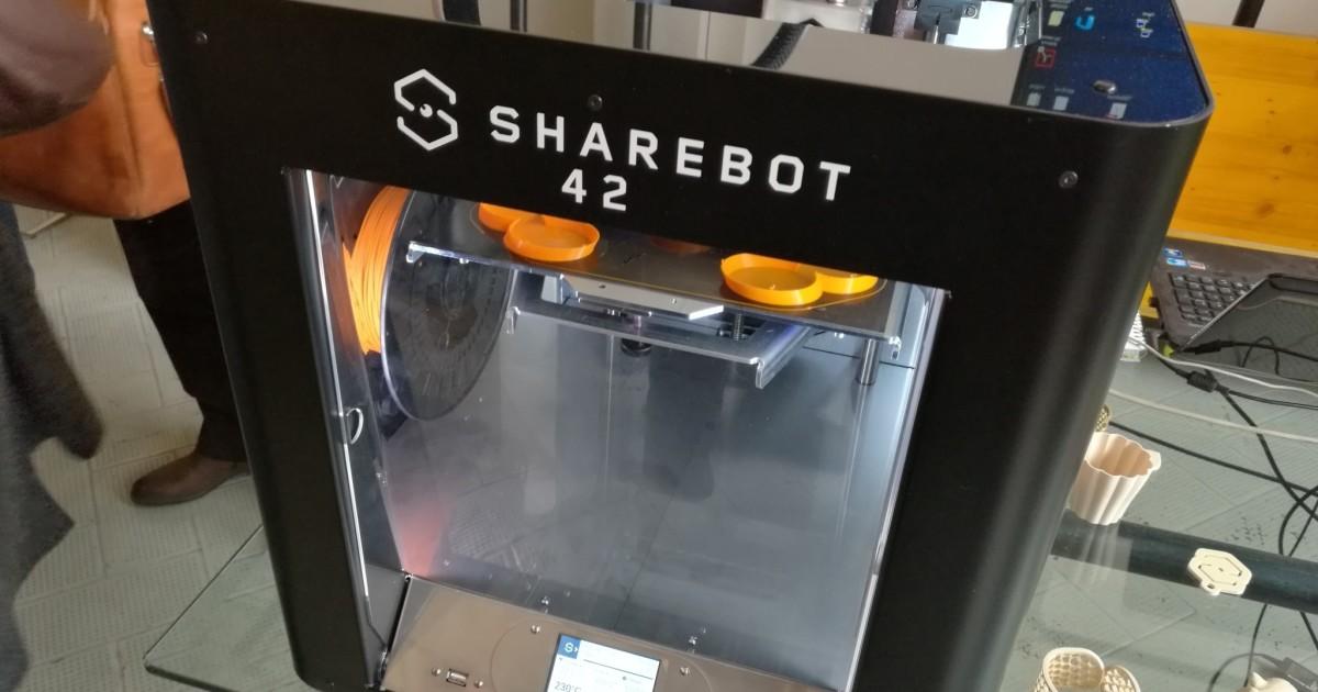 Sharebot 42, stampa 3D professionale rapida e precisa