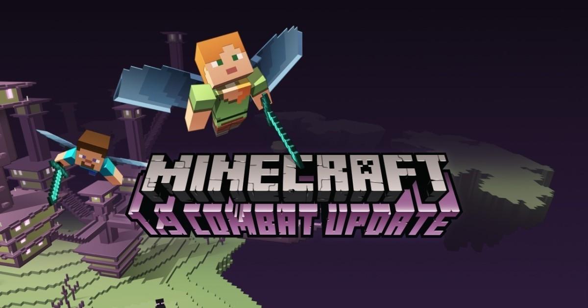Minecraft rivoluziona i combattimenti con l'update 1.9