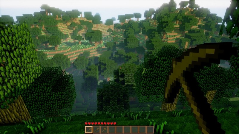 Minecraft come non l'avete mai visto con l'Unreal Engine 4