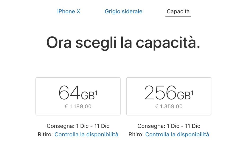 IPhone X, Apple aumenta la produzione per soddisfare l'enorme domanda