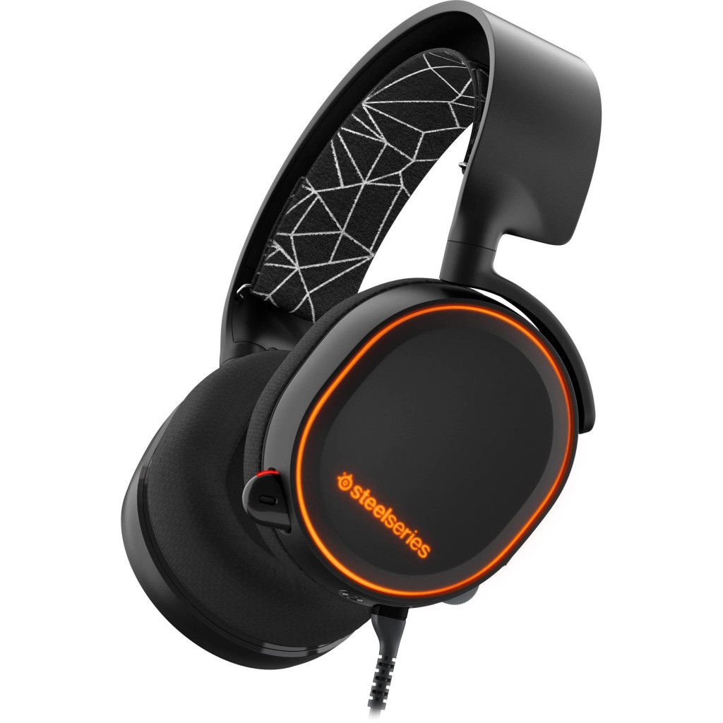 steelseries 61443 arctis 5 gaming headset 1297847