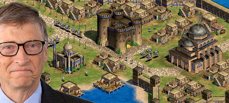 bill gates age of empires