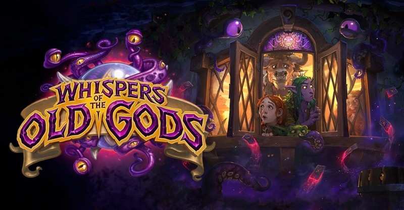 Hearthstone Whispers of the Old Gods, nuova espansione!