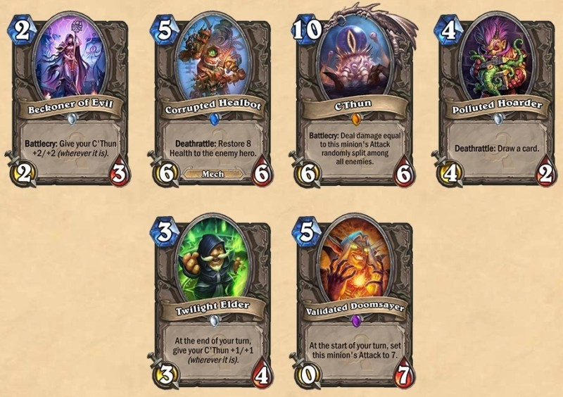 hearthstone carte