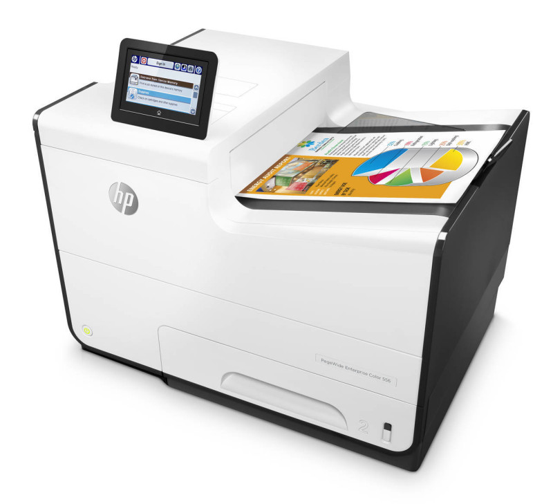 HP PageWide Enterprise Color 556dn Printer