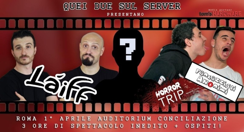 Quei Due sul Server, da YouTube al teatro con Làiff!