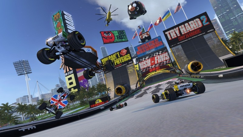 Trackmania Turbo: su PS4 in Full HD su Xbox One solo 900p
