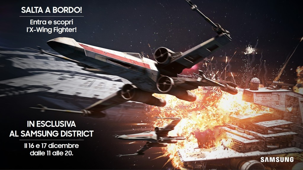 Samsung XWing Mostra District