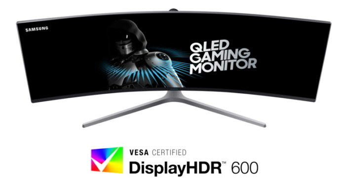 QLED Gaming Monitor VESA Main 1