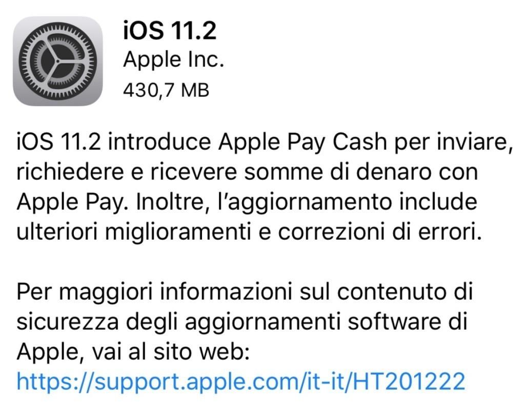 Apple conferma: