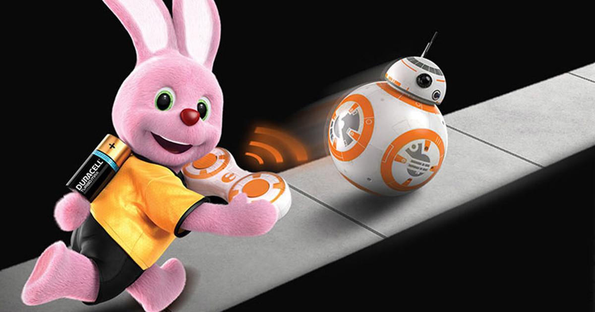 Duracell e Hasbro Star Wars BB-8, che l'autonomia sia con te