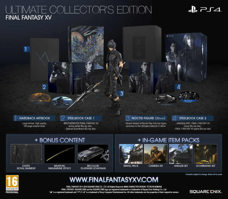 Final Fantasy XV a ruba, le Collector's Edition non bastano | Game Division
