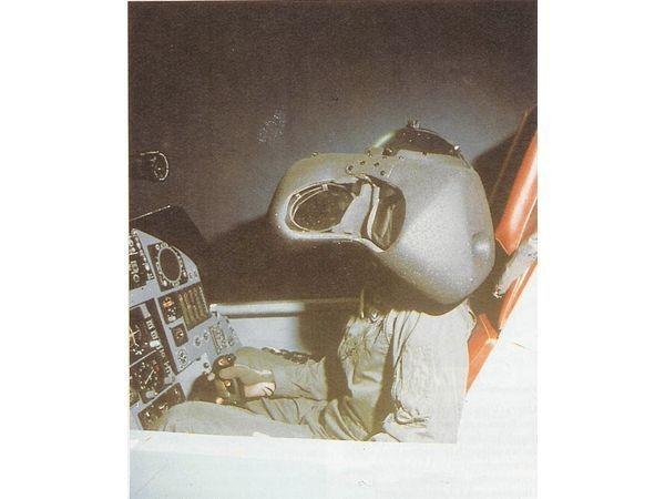 Il SuperCockpit per la simulazione dei voli dei piloti dei caccia.
