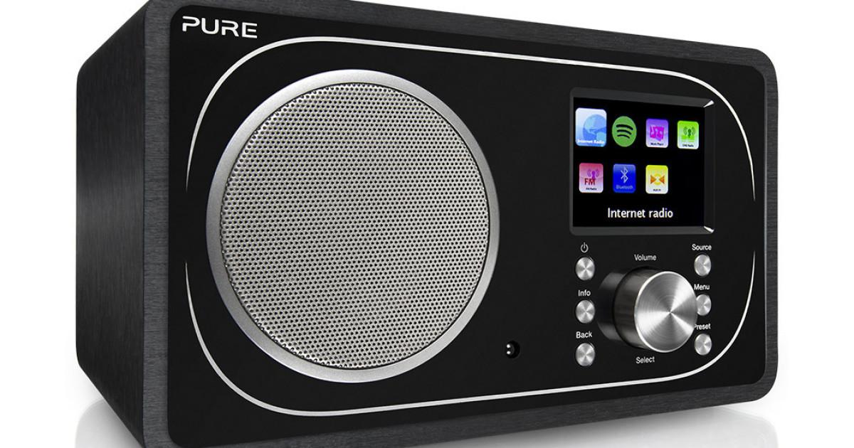 Pure Evoke F3, radio vintage ma con DAB e Spotify