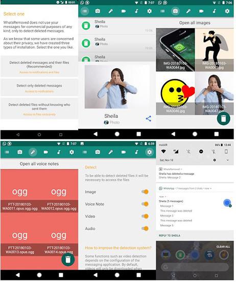 WhatsRemoved : l'app che ti consente di vedere i mesaggi cacellati su WhatsApp