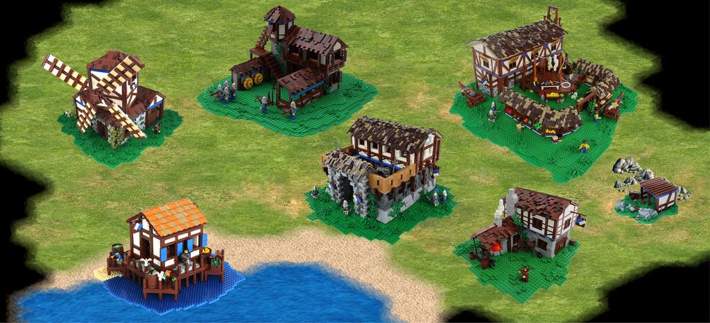 Age of Empires prende vita con i mattoncini Lego!