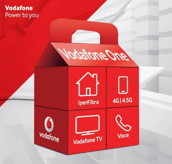 Vodafone One: Nuova offerta con Iperfibra, sim 4.5G e Vodafone TV
