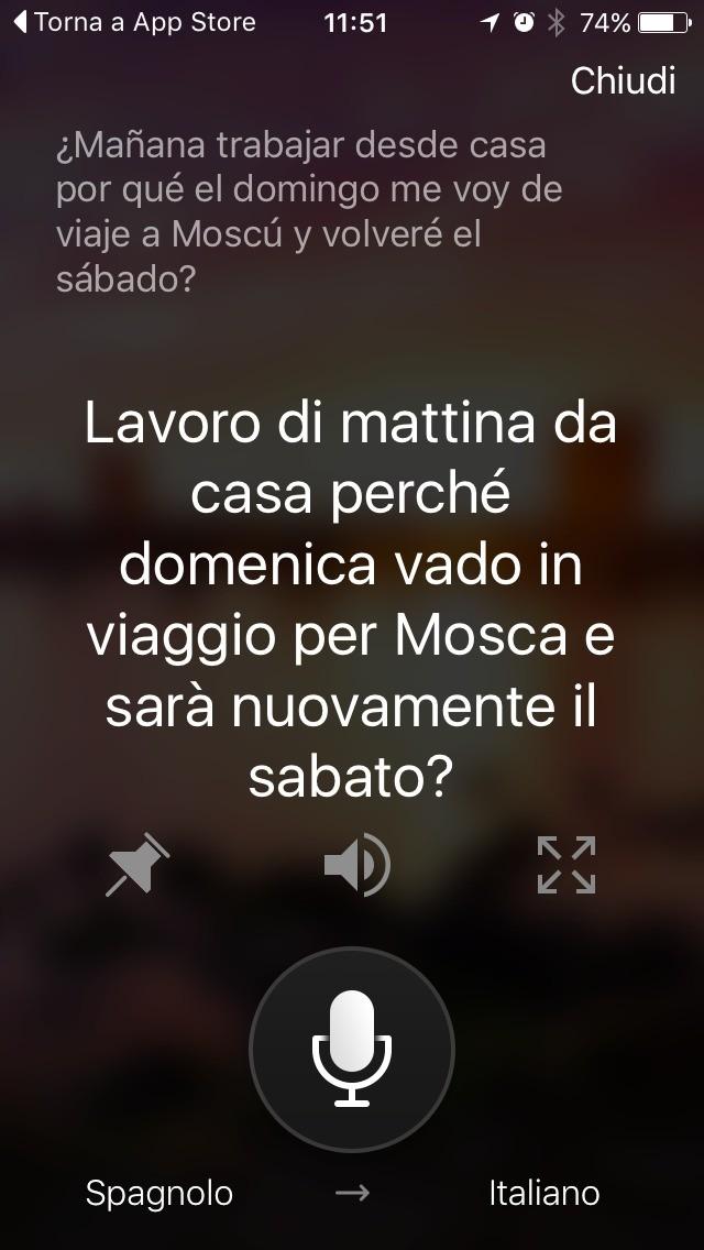 Cortana adesso fa la traduzione vocale dall 39 italiano tom for Traduzione da spagnolo a italiano