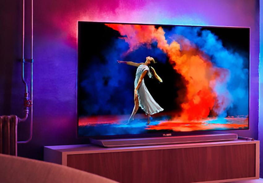 philips ecco le android tv oled e lcd per il 2018 tom 39 s hardware. Black Bedroom Furniture Sets. Home Design Ideas