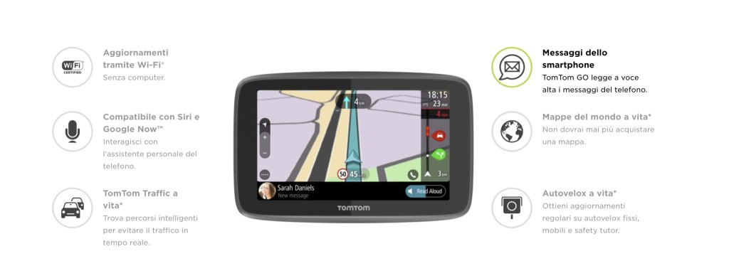 mappe tomtom xl craccate