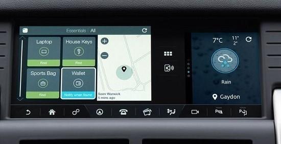 Land Rover Discovery Sport 2016: debutta il Tile Tracker