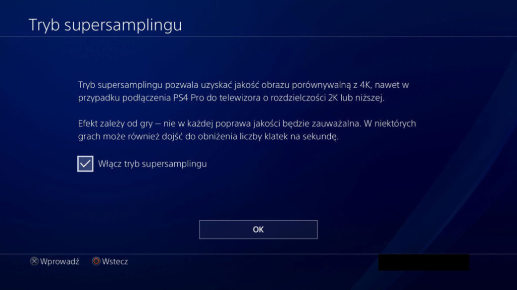 PS4 Firmware 5 50 Supersampling