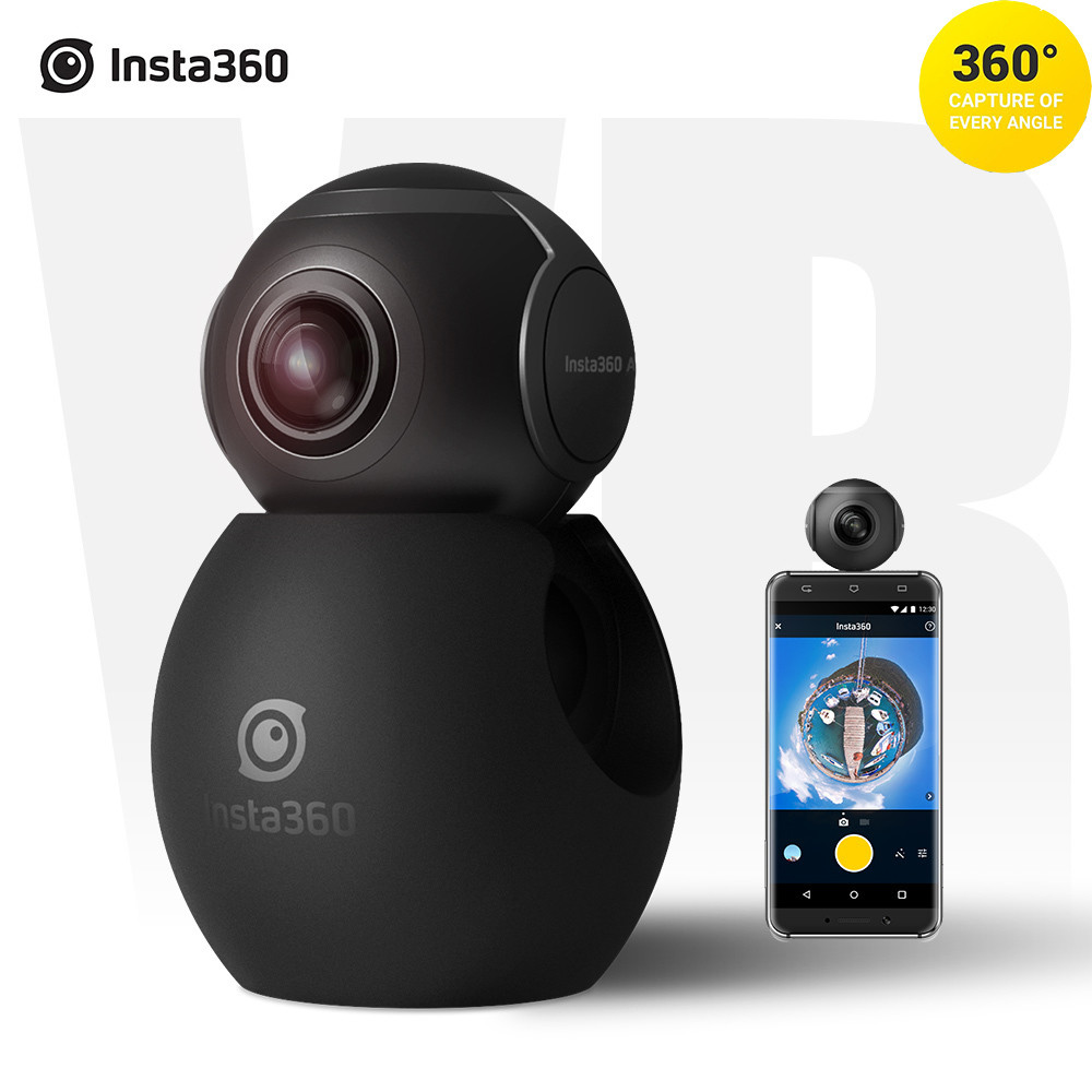 Insta360 Air Panoramic 360 Camera 3K HD Mini Camera Dual Wide Lens VR 360 Video Camera